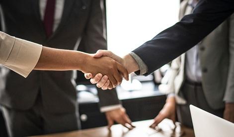 job negotiations handshake